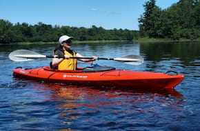 Kayaking in Chapora River