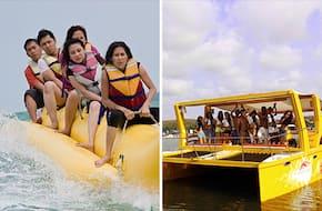 Back water Cruising & Adventure sports in Goa