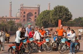 Shah Jahan Cycling Tour: Explore Delhi's Mughal Connect