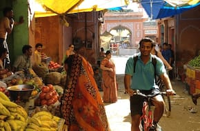 Pink Inside cycle tour: Classic tour of old Jaipur City