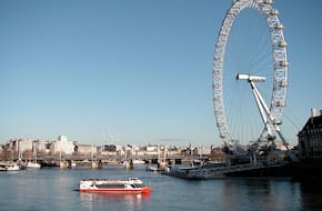 Thames River Cruise At London Eye