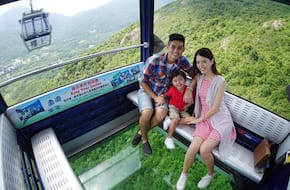 Ngong Ping 360 Cystal Cabin (Roundtrip Anytime)