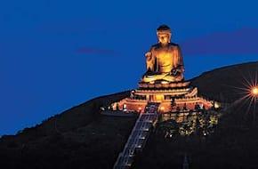 Lantau Big Buddha Tour with Hong Kong side Hotel