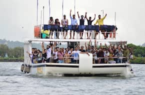 Adventure Party Boat Tour - GOA