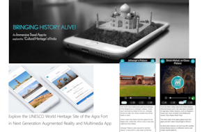 Augmented Reality & Multimedia Tour of Agra Fort (App based Audio & Multimedia Guide)