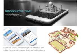 Augmented Reality & Multimedia Tour of Fatehpur Sikri, Agra (App based Audio & Multimedia Guide)