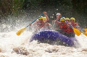 White Water Rafting tour at Rishikesh