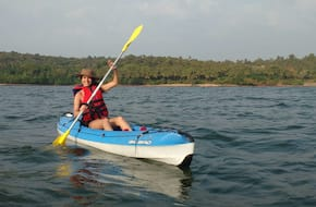 Group Kayaking in Goa