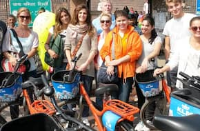 Delhi By Cycle-Shah Jahan Tour in Old Delhi