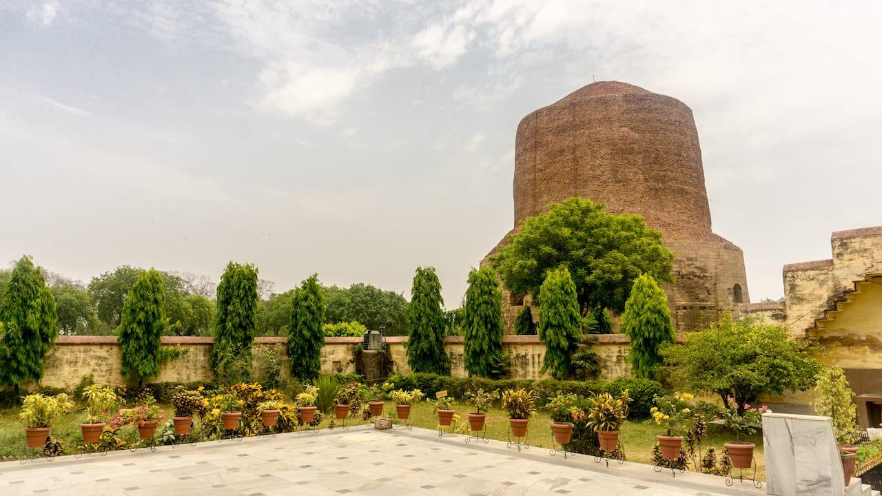 Dhamekh Stupa in Sarnath
