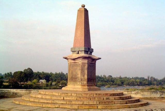 Obelisk Monument inside Fort
