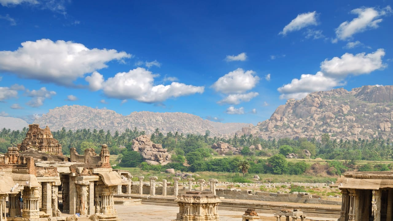 Group of Monuments, Hampi