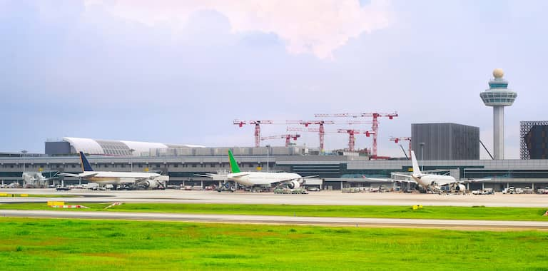 Singapore International Airport Routes, Map and Contact Information