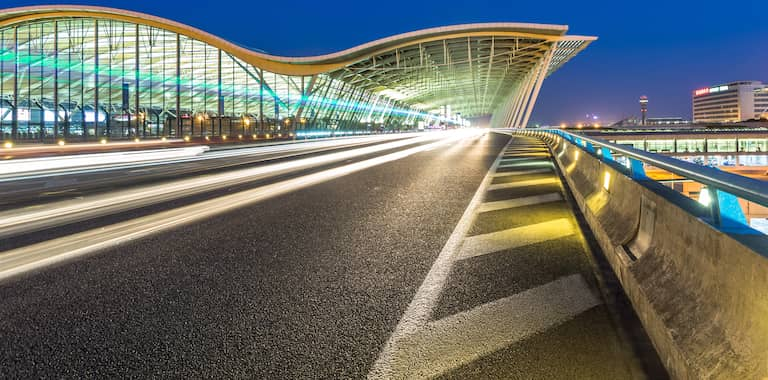 Shanghai International Airport Routes, Map and Contact Information