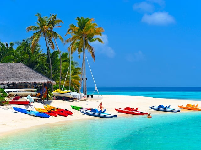 Book Water Villa Luxury Paradise Island Resort Spa Tour Packages