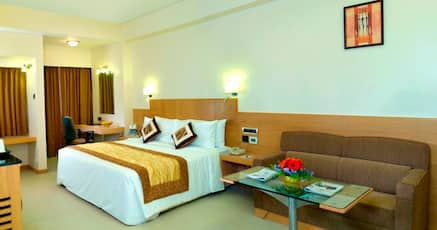 91 Hotels near Chatram Bus Stand, Trichy  Room @ ₹ 620/night
