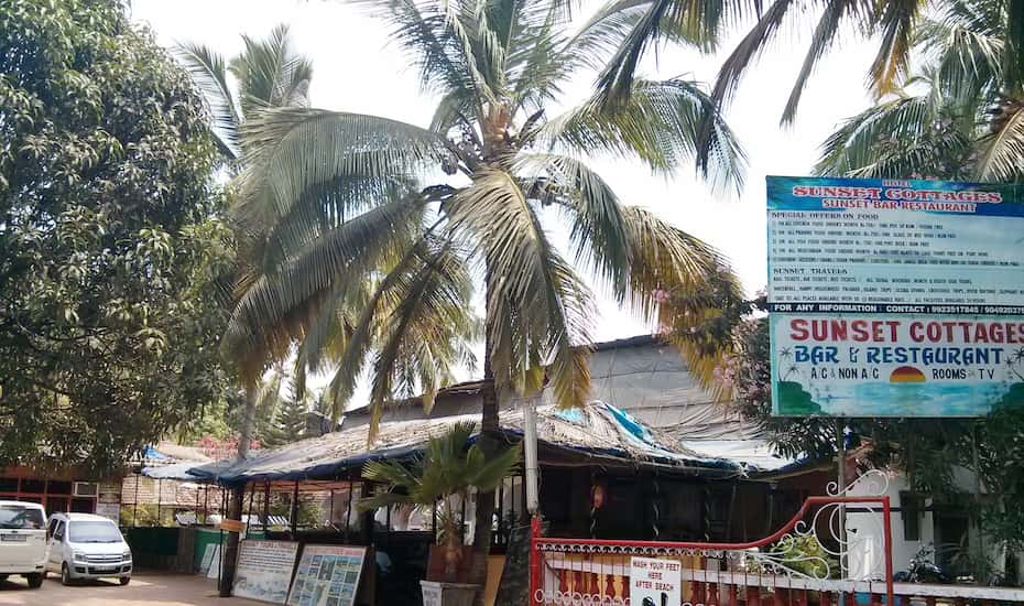 Sunset Cottages Goa Book This Hotel At The Best Price
