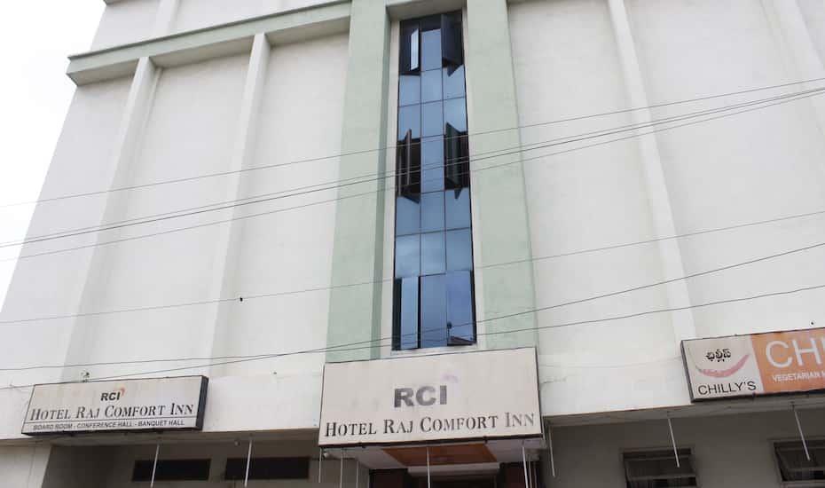 Hotel Raj Comfort Inn Hyderabad Hotel Booking Reviews Room Photos