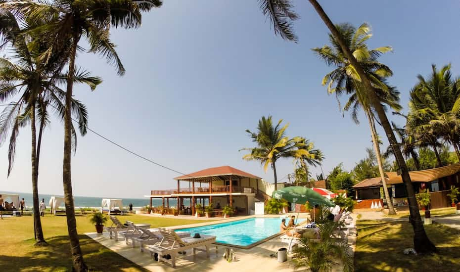 La Cabana Beach Spa Goa Hotel Booking Reviews Room Photos Price Offers