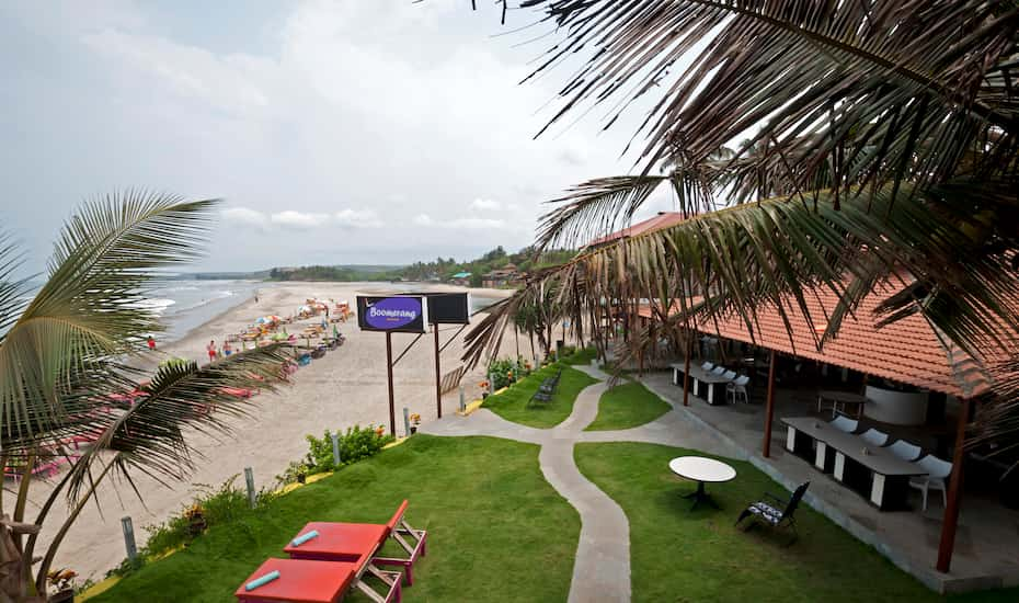 V Resorts Oaktel Boomrang Goa Book This Hotel At The Best