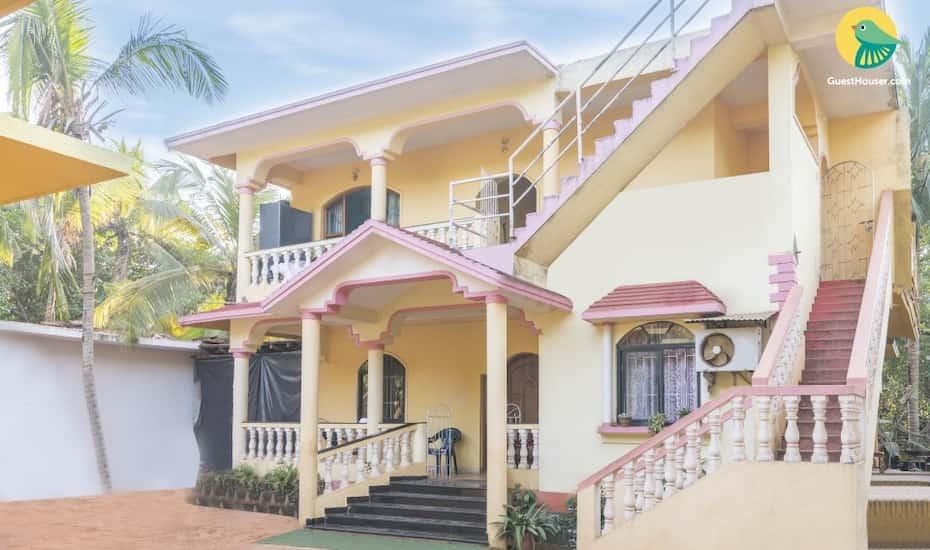 Homestay Near Calangute Beach Goa Hotel Booking Reviews Room