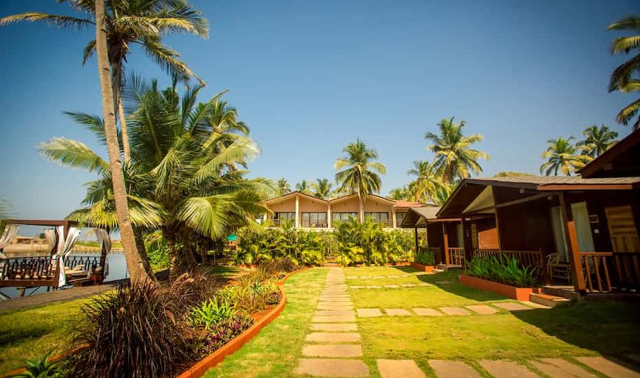 riva beach resort goa hotel booking reviews room photos price