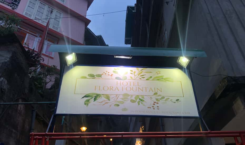 Image result for hotel flora fountain gangtok