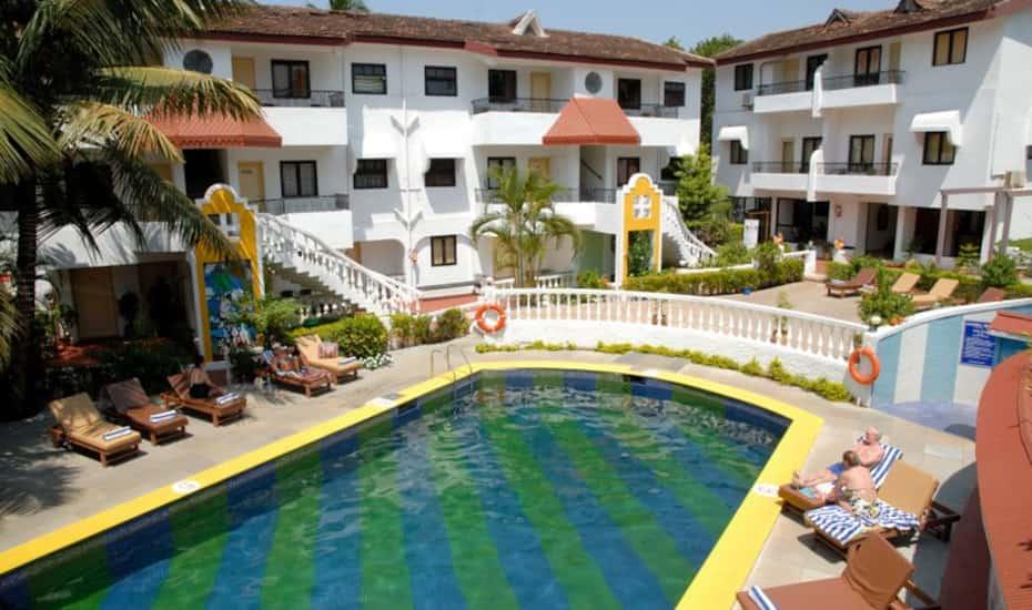 The Goan Village Beach Resort Goa Book This Hotel At The