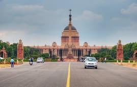 Rashtrapati Bhawan Area
