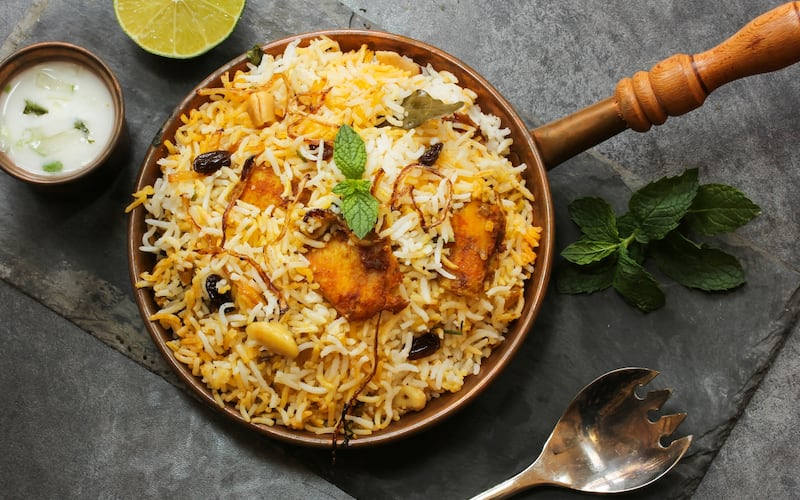 Image result for hyderabad biryani