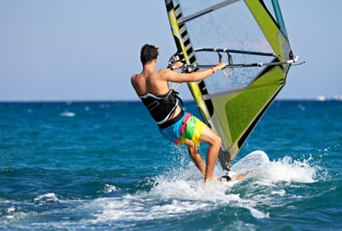 Wind surfing in India  Things to know about wind surfing
