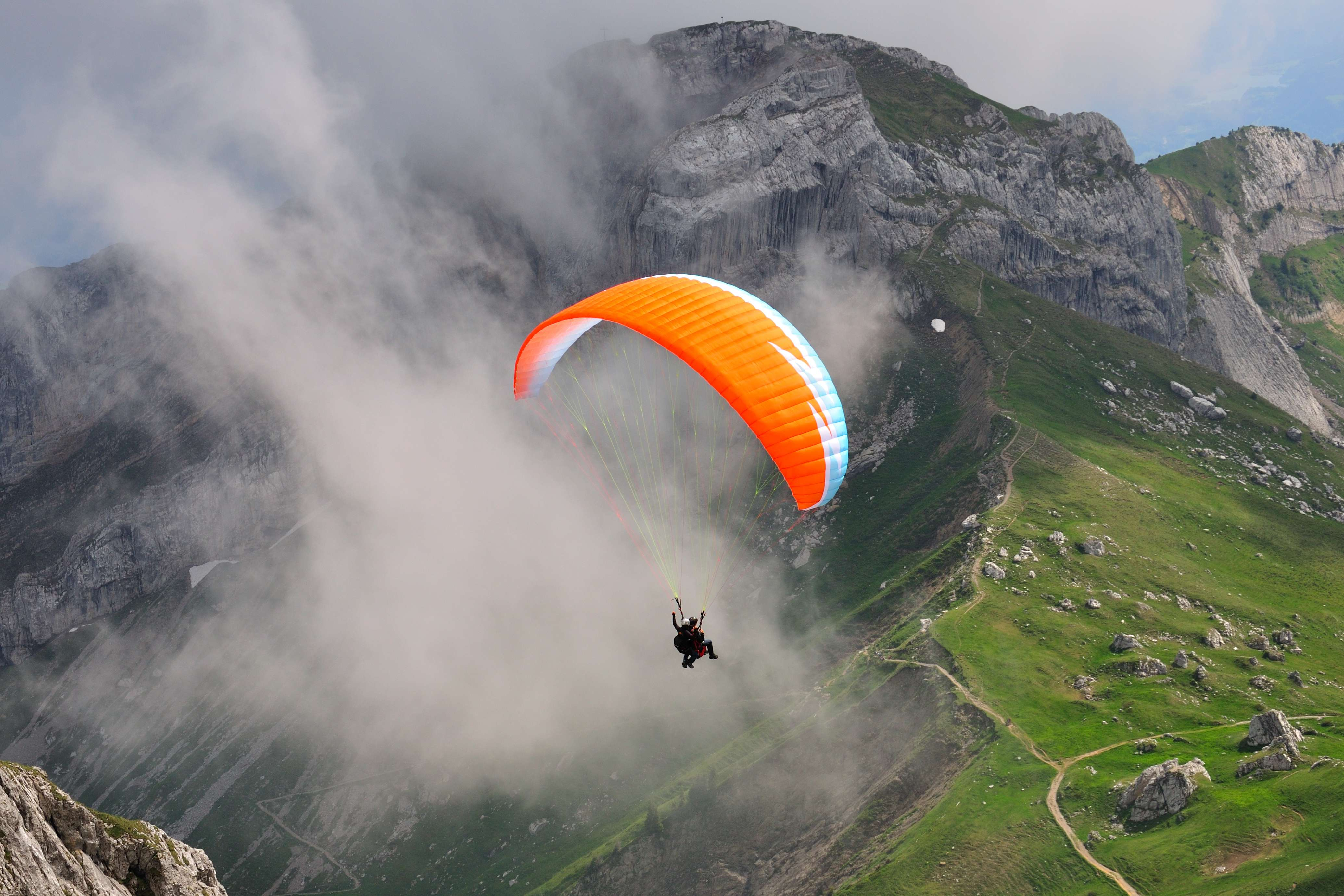 Tandem Paragliding in Pokhara Nepal | Adventure Nation