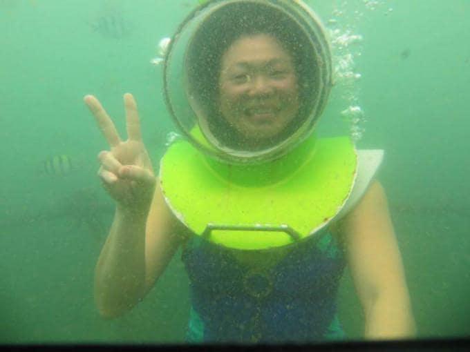 Sea Walker Activity in Tanjung Benoa Bali