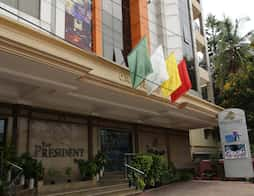 The President Hotel in Bangalore